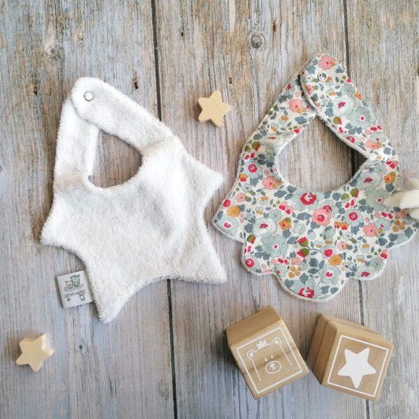 bavoir bébé anti-régurgitation absorbant